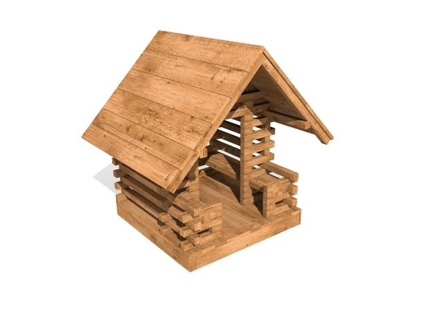 9007R - Domek dla maluchów