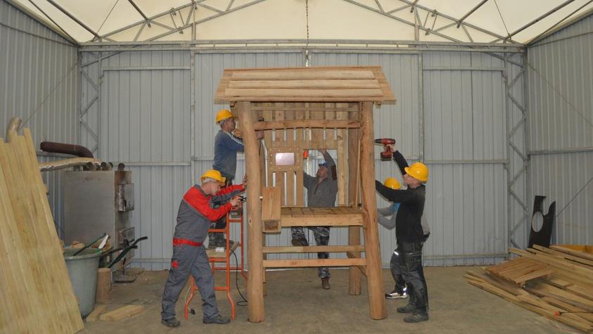 Produkcja elementów wyposażenia placów zabaw